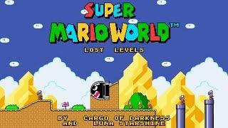[PT-BR/ENG] SUPER MARIO WORLD: THE LOST LEVELS #02 - SAÍDAS SECRETAS SACÓIDES PRA CONSEGUIR