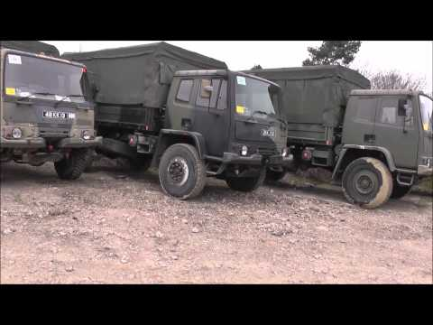 Land Rovers, trucks, HGV's, recovery vehicles and trailers. Tender sale
