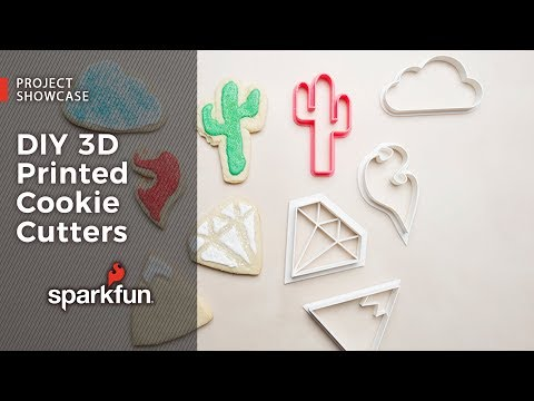 Project Showcase: DIY 3D Printed Cookie Cutters