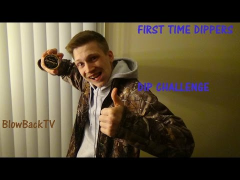 People's Reaction To First Tobacco Dip!