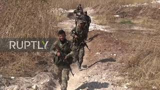 Syria SAA Continues Military Operations In Hama Province