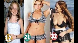 Lindsay Lohan ♕ Transformation From A Child To 32 Years OLD
