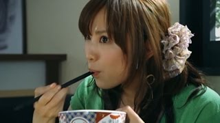 市川由衣 佐藤隆太 吉野家CM 「失恋編」 720pHD.