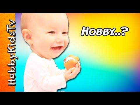 HobbyBaby Gets His NEW Hobby Name! Name Reveal + Baby Toy Haul HobbyKidsTV
