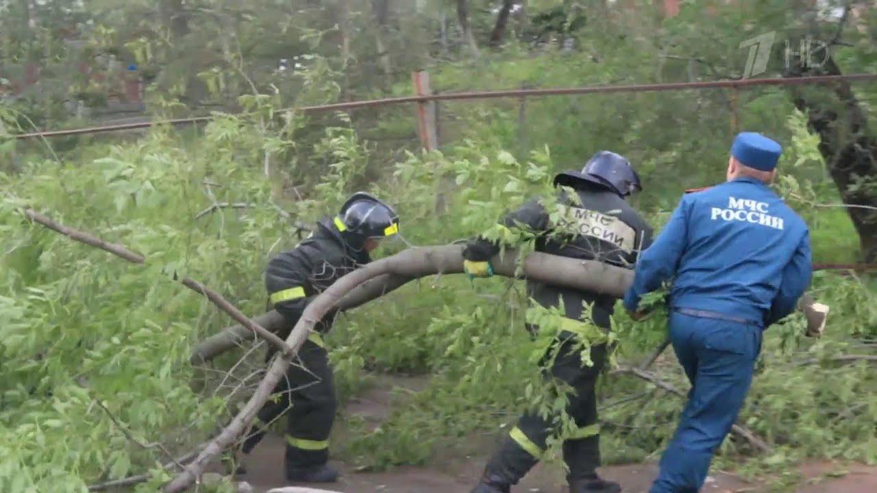 На Дальнем Востоке ликвидируют разрушительные последствия тайфуна «Майсак»