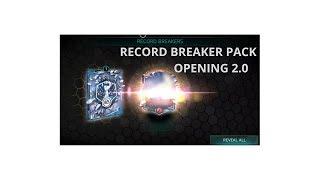 GIMME THAT VAN DIJK - RECORD BREAKER 2.0 PACK OPENING