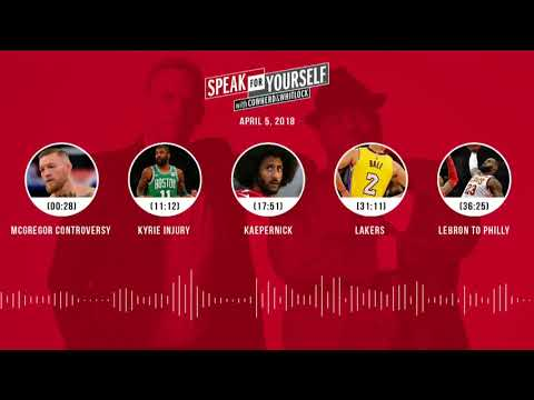 SPEAK FOR YOURSELF Audio Podcast (4.5.18) with Colin Cowherd, Jason Whitlock | SPEAK FOR YOURSELF