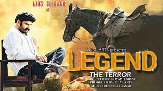 LEGEND THE TERROR Hindi Dubbed Movie | Nandamuri Balakrishna | Nayantara | Brahamanandam