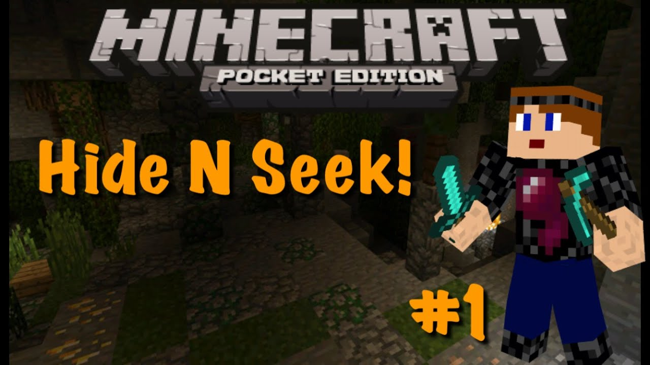 Minecraft Hide and Seek Funny Moments - YouTube