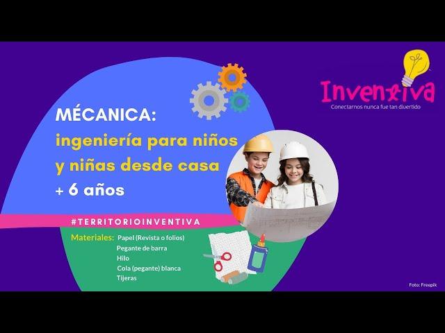INVENTIVA | Mecánica e Ingeniería para niños y niñas: Construyendo Puentes