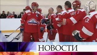 В Ярославской области прошел хоккейный матч в память о погибших игроках клуба «Локомотив».