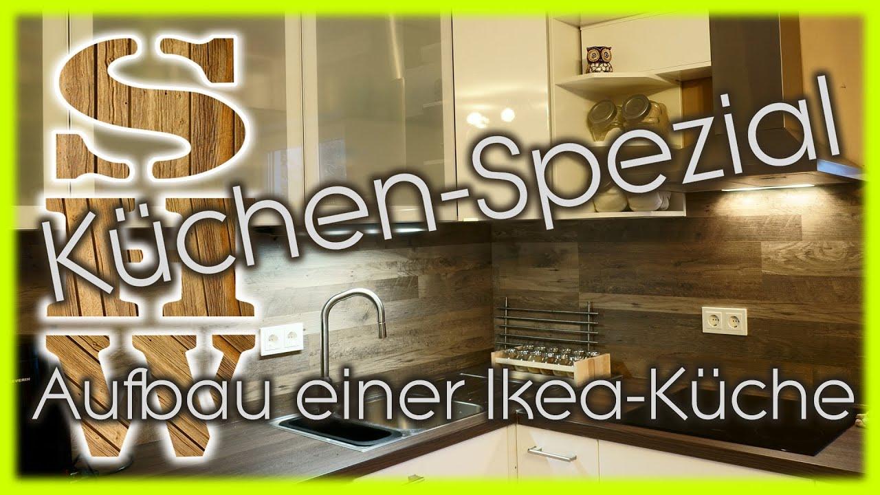 Aufbau einer Kche IKEA FAKTUM Kche komplett  YouTube