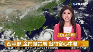 山竹登陸呂宋島 台沿海掀8米長浪| 華視新聞 20180915