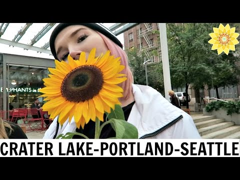 CRATER LAKE, PORTLAND, & SEATTLE | ROAD TRIP VLOG #3