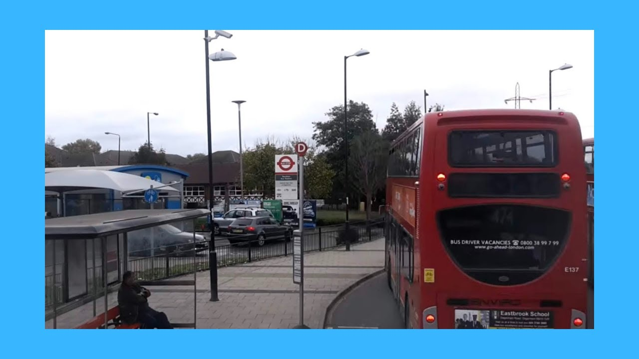 London Bus Route 474 Full Route Visual Epic Diversion Canning Town Barking Road To Manor Park