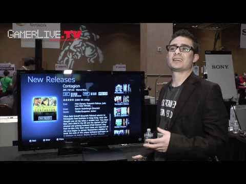 CES 2012: First Look at Sony Entertainment Network Cloud Movie Service