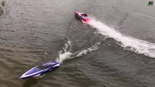 Traxxas spartan and m41 catamaran