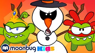 Om Nom Stories | Evil Snowman! | Cut The Rope | Funny Christmas Cartoons for Kids & Babies