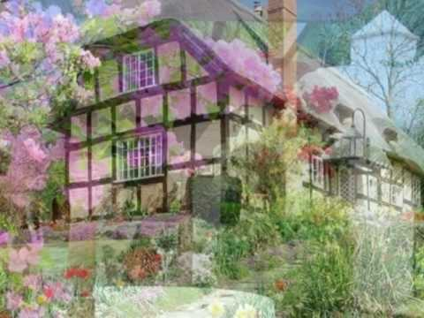 beautiful gardens and houses with flowers - Beautiful Garden Pictures Houses