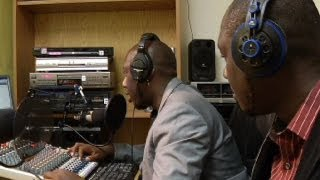 Radio station keeps area Liberians in tune with homeland