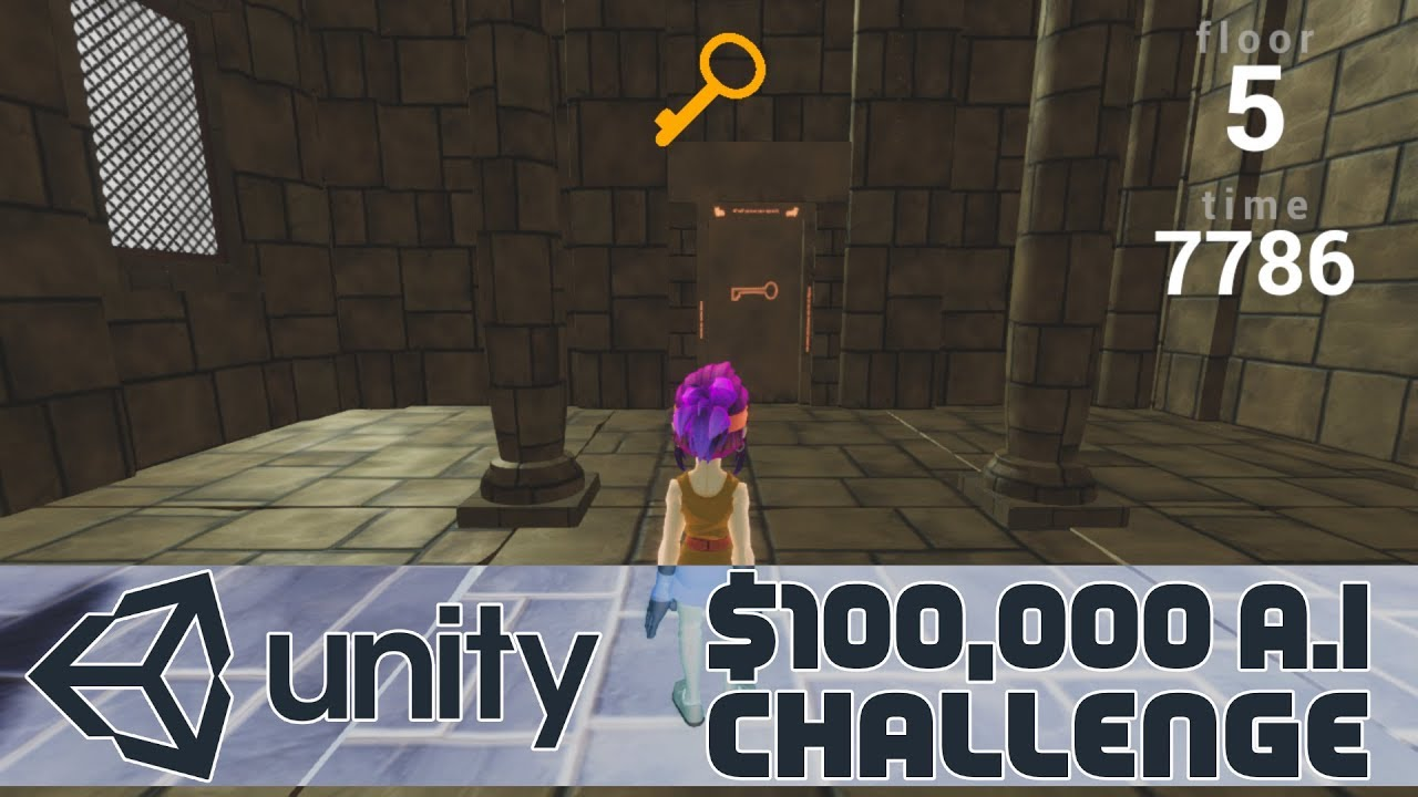 Unity $100K AI Contest -- Obstacle Tower Challenge
