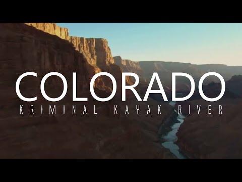 Kayaking The Grand Canyon, COLORADO River - GoPro - Kriminal Kayak River Trip
