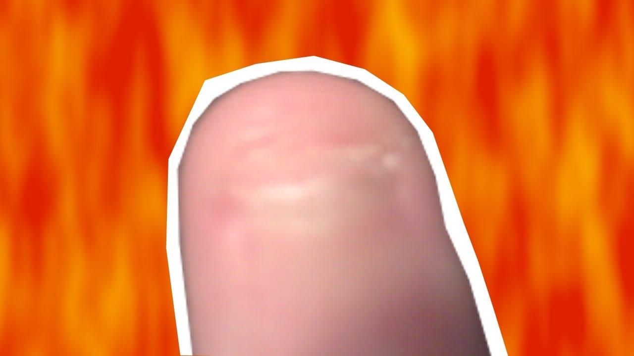 Shortest Fingernail in The World ? - YouTube