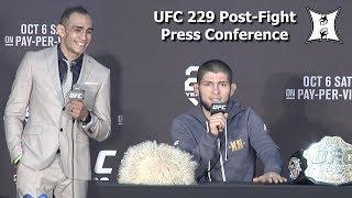 UFC 229 Khabib Nurmagomedov Vs Conor McGregor Post Fight Press Conference L VE  HD