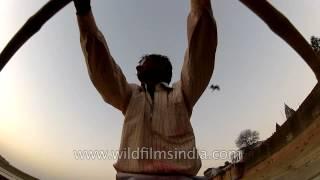 Sailing down Chet Singh Ghat : Varanasi