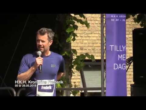 12.000 til Royal Run i Aarhus, fejrer Kronprins Frederik