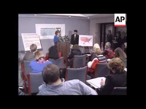 USA: WASHINGTON: ANTI ABORTION DEMONSTRATION