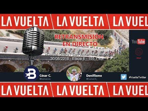 Etapa 6 Vuelta a España 2018 | Huércal-Overa / San Javier (155,7 km) | Only Audio | #LaVuelta18