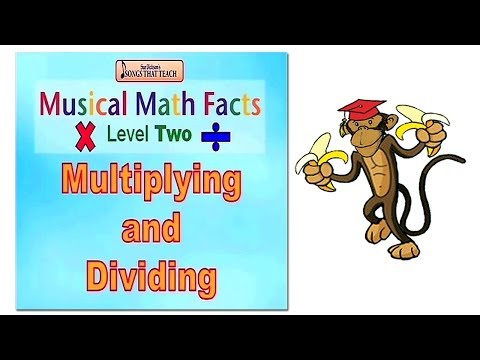 Musical Math Level 2 Multiplication & Division by Sue Dickson