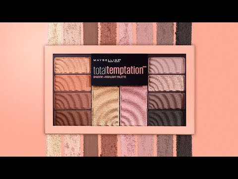 1 paleta 2 looks: total temptation de maybelline