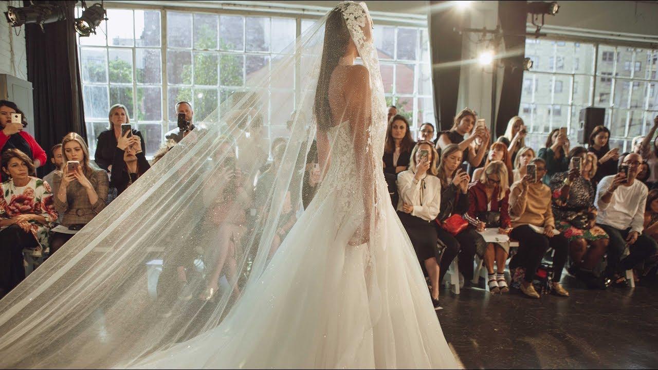 BERTA FW 20 Bridal Couture Runway Show