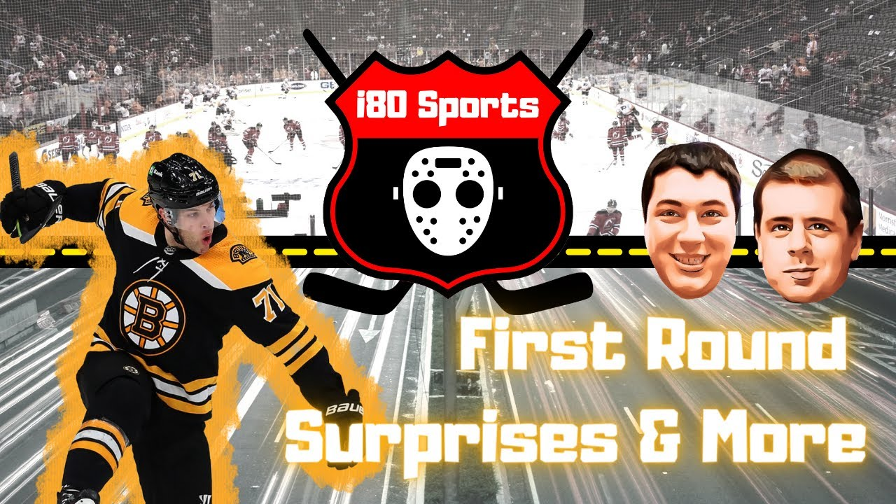 i80 Sports NHL- First Round Surprises and More!