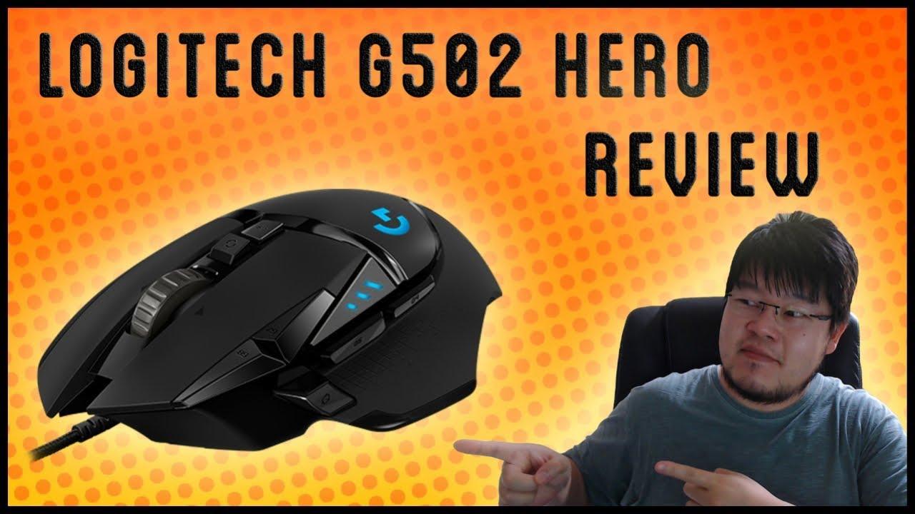🖱️ LOGITECH G502 HERO [Review] - DESTRUÍ meu Logitech G502 Proteus  Spectrum