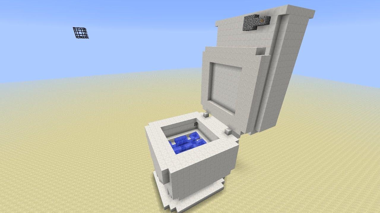 Merveilleux Toilet In Minecraft   YouTube