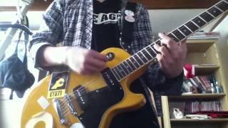 ハイロウズの「BGM」をギターで弾いてみました。 最後にミスが.....