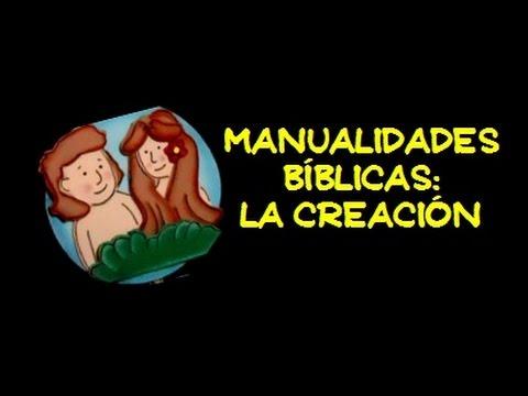 Manualidades Bíblicas La Creación