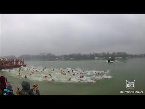 Plivanje Za časni Krst 2020. Novi Sad, Sremska Kamenica