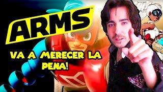 ARMS PARA NINTENDO SWITCH VA A SER UN JUEGAZO!!! - Nintendo Direct Mayo 2017