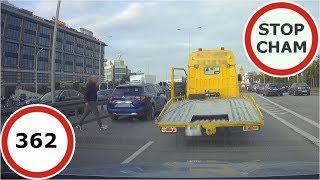 Stop Cham #362 - Niebezpieczne i chamskie sytuacje na drogach