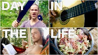 DAY IN THE LIFE AT FRUITHAVEN ECOVILLAGE || What I Eat In A Day Raw Vegan OMAD