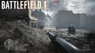 Battlefield 1 Multiplayer #2 ::Conquest:: Awesome Looking Map - No Commentary