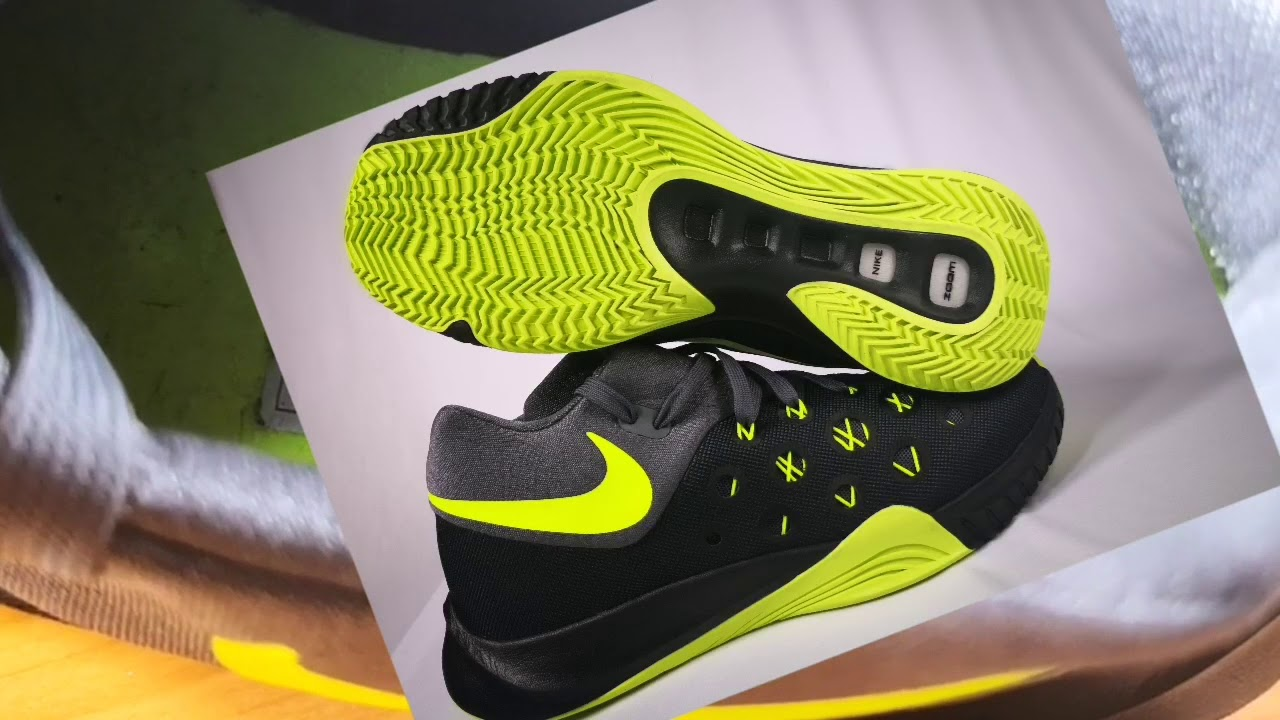 52ca22a71b57a Unboxing NIKE Zoom Hyperquickness 2015 02 - YouTube