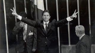 Discurso de posse do presidente Fernando Collor de Mello (PRN) - com legenda