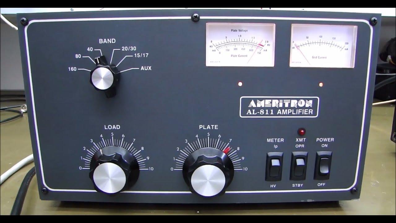 ALPHA TELECOM: AMPLIFICADOR LINEAR AMERITRON AL-811 ''CADEIRA ELÉTRICA'''