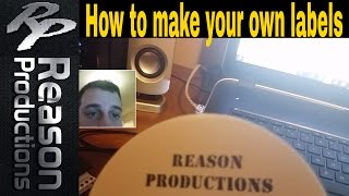 Making your own CD labels
