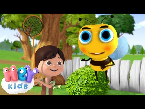 Пчелка, пчелка, улетай 🐝 - Песни для Детей